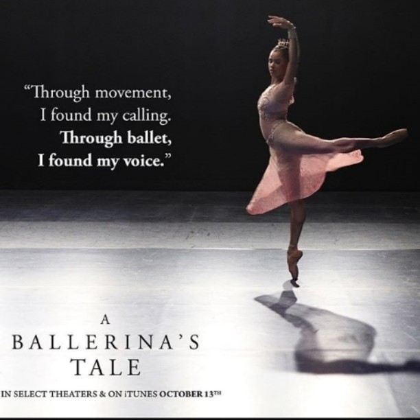 mistyonpointe aBallerinasTale is coming to a theater near you Gohellip