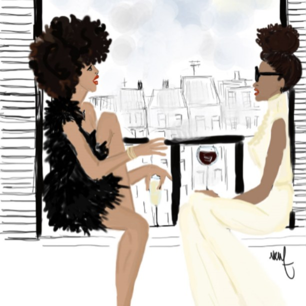 The naturalhair community is full of life long friends whohellip