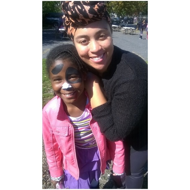 I didnt do bad painting faces for the kiddies todayhellip