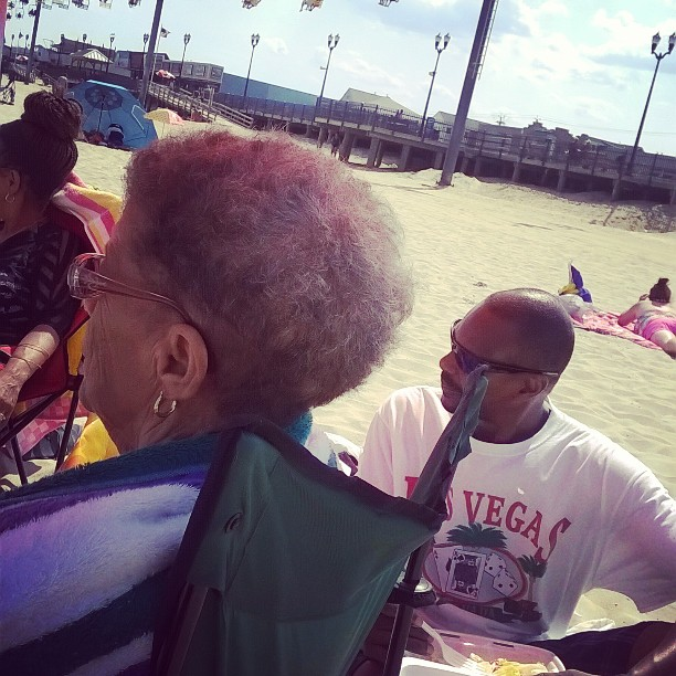 My family beach bumbs for the day My grandmom fusinghellip