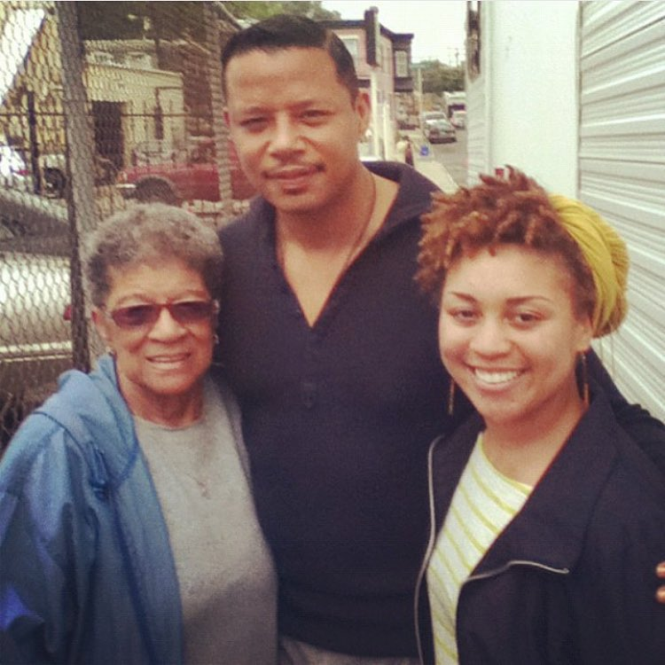 TBT to when Granny and I meet Terrance Howard aroundhellip