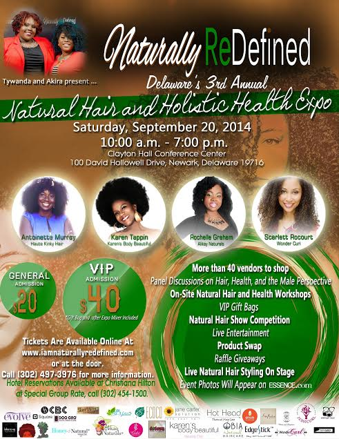 Naturally Defined image flyer
