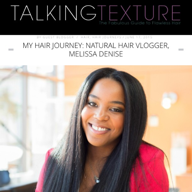 Read more of My Hair Journey with naturalhair vlogger melissadenise27hellip