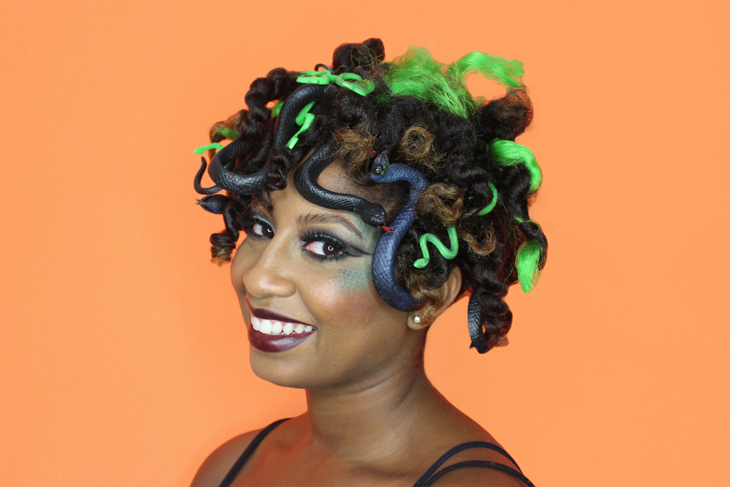 Au Naturale Hair Styles: Dark And Lovely Au Naturale Halloween Inspiration For